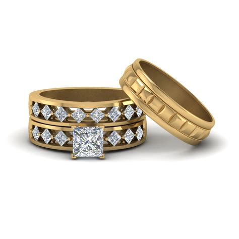 95 cheap wedding rings sets for him and wedding