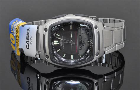 Casio Aw 81 1a1v Original casio world time 10 years bat end 3 31 2018 3 15 pm myt