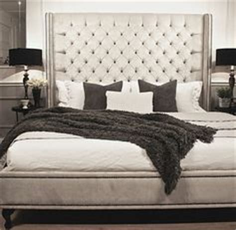 Custom Mattress Melbourne by Tamsen Curved Upholstered Bed Headboard Dallas Decor Nail Upholstered