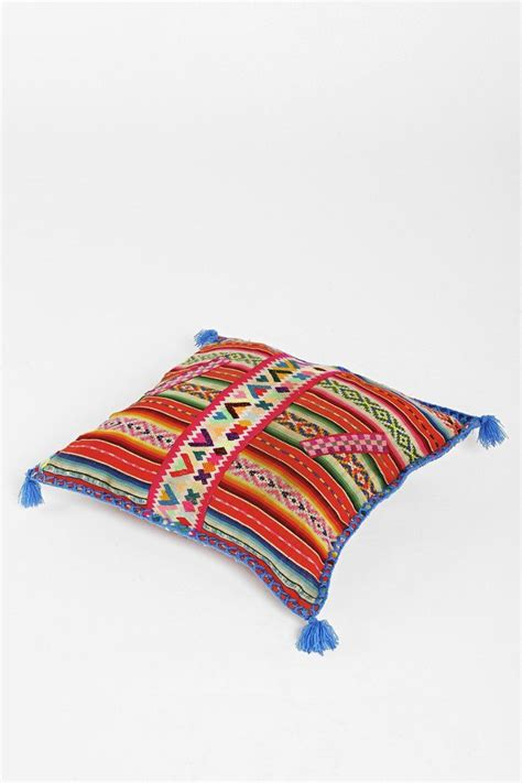 our open road x uo peruvian one of a throw pillow