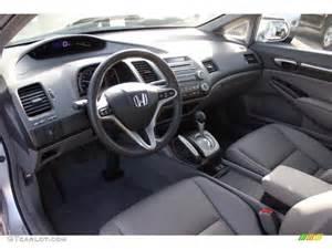gray interior 2010 honda civic ex l sedan photo 76652344