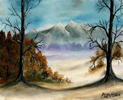 Landscape Artwork Canvas Watercolor Paintings By Derek Mccrea Landscape