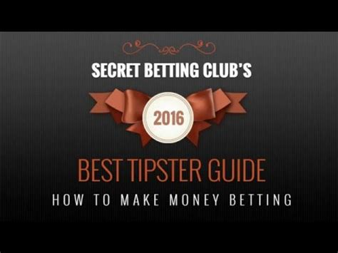 best tipster best tipster guide 2016