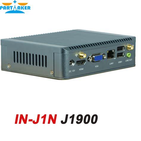 Ram Nano Komputer 8g ram only bay trail nano itx fanless portable embedded pc with intel celeron j1900