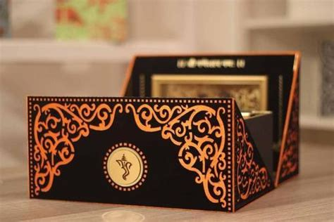 Wedding Box Cards India by Indian Wedding Invitations Box Www Pixshark Images
