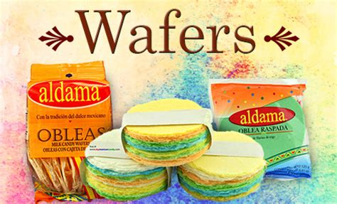 wafers obleas mexican candy