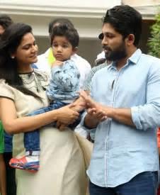 allu arjun and family allu arjun family at haritha haram event south india fashion