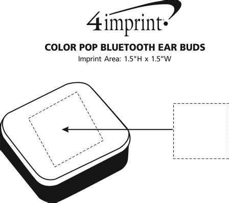 section 111 of public law 110 173 4imprint com color pop bluetooth ear buds 143083