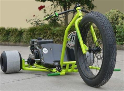motorized big wheel gas powered drift trike tricycle bike motorized