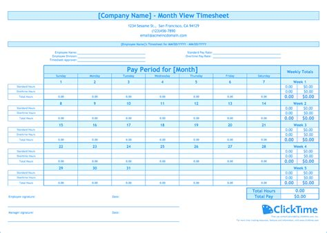download weekly timesheet excel template exceldatapro