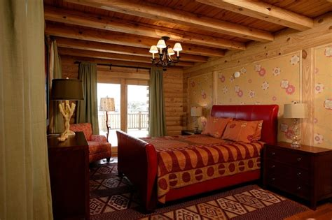 rustic bedrooms design ideas canadian log homes cabin log