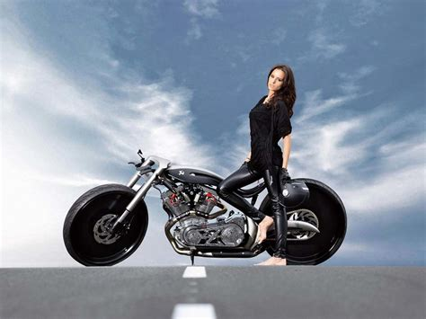 wallpaper girl motorcycle girls motorcycles wallpaper and background image