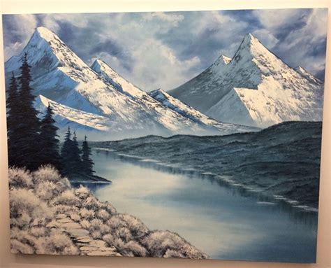 bob ross painting nyc 187 new york brendan lynch mountains collection at