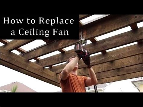 how do you put up a ceiling fan 17 best images about on to fix stain