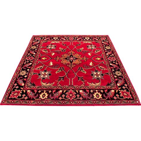 3 X 3 Rugs by Size 3 X 3 Marand Wool Rug From India