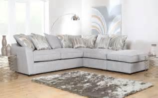 sofa grau stoff buoyant fantasia grey fabric corner sofa only 163 999 99