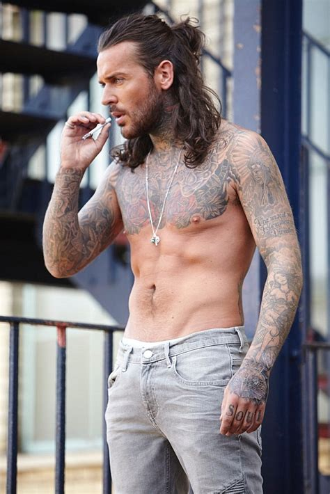 towie s pete wicks shirtless for calendar photoshoot in