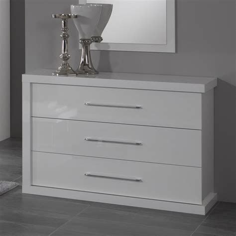 Commode Blanche Design commodes laquees blanches