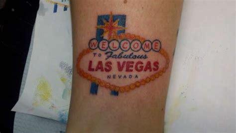tattoo pictures of las vegas las vegas sign tattoo