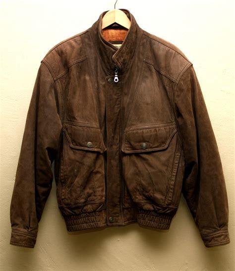 Jaketexpress Boomber Brown Jacket Boomber s vintage brown leather bomber jacket flight jacket