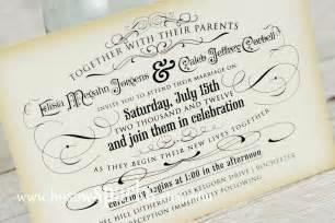 vintage wedding invitation printable diy the timeless