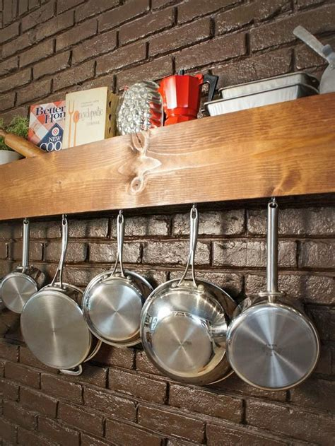 Build Your Own Pot Rack by 25 Best Ideas About Pot Rack Hanging On