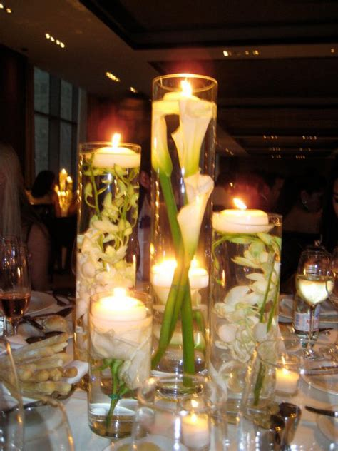 Vase Centerpieces by Wedding Centerpieces With Cylinder Vases