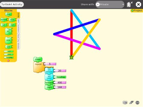logo turtle programming one laptop per child olpc getting started using activities