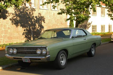 1969 ford fairlane parked cars 1969 ford fairlane