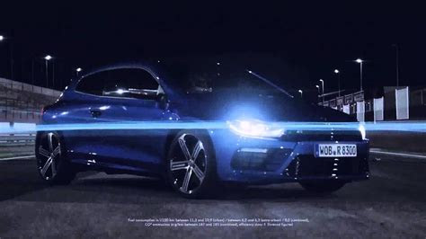 vw scirocco  debut video youtube