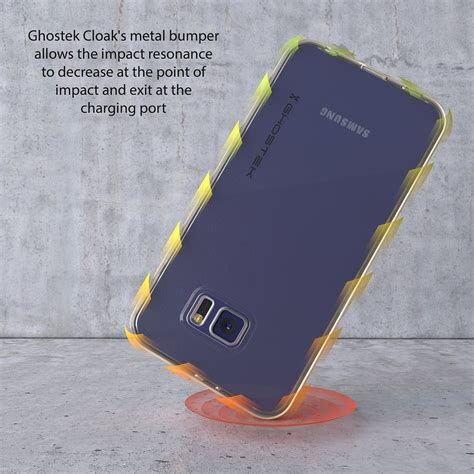 Galaxy S6 Premium Casing Cover Bumper Sarung Armor Murah ghostek cloak series black slim premium protective