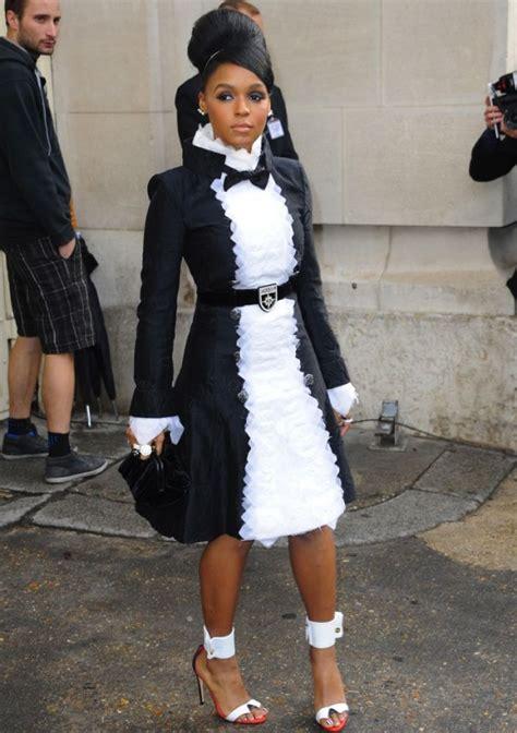 Janelle Monae Wardrobe by Wardrobe Breakdown Janelle Monae At Chanel Show In