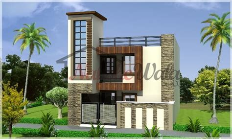 House Plan For 15 Feet By 60 Feet exterior house designs in punjab home design and style