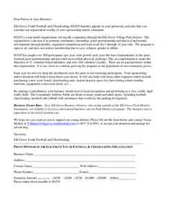 Sample Letter Charity Organization charity sponsor letter template sample corporate sponsorship letter