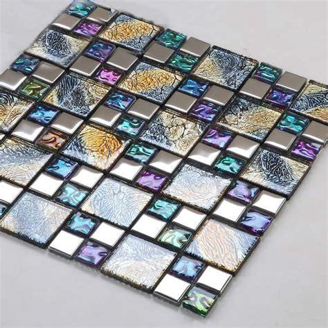 Vitreous Glass Mosaic Tiles wholesale vitreous mosaic tile plated glass