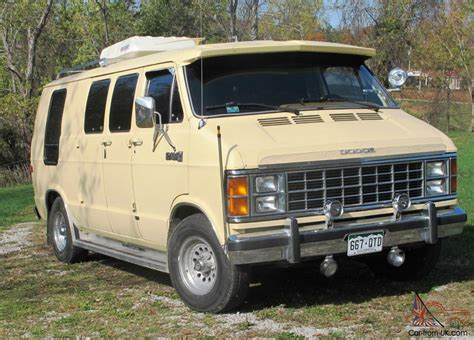 2 Car Garage Size Dodge Ram Van Prospector