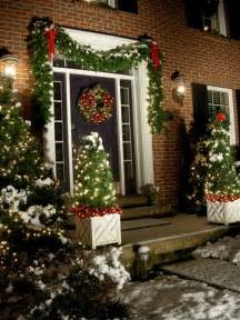 outside home christmas decorating ideas how to beef up faux christmas garland and other tips in