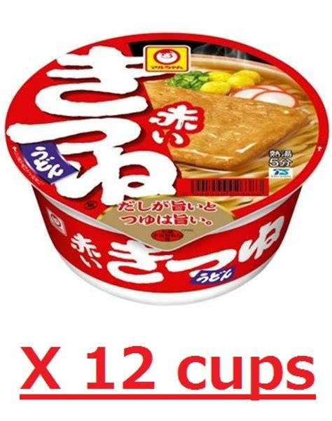 Udon Cup From maruchan kitsune udon cup 12 bowl bonito soup noodle japanese instant tofu fried ebay