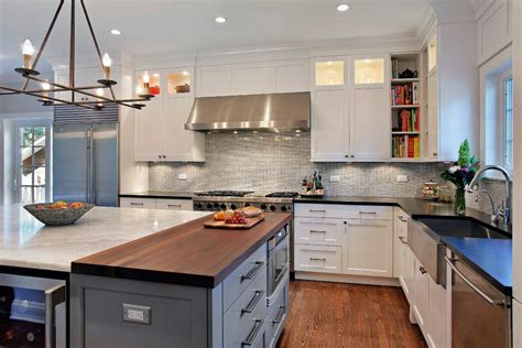 butcher block kitchen island contemporary kitchen butcher block countertops dark cabinets kitchen