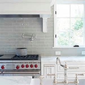 gray subway tile backsplash contemporary kitchen l