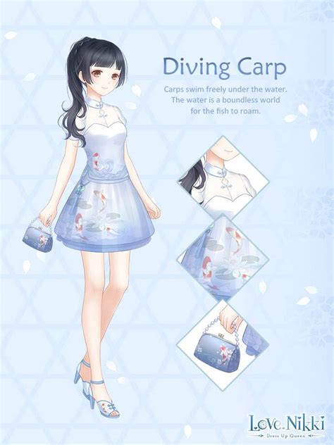 diving carp love nikki dress  queen wiki fandom
