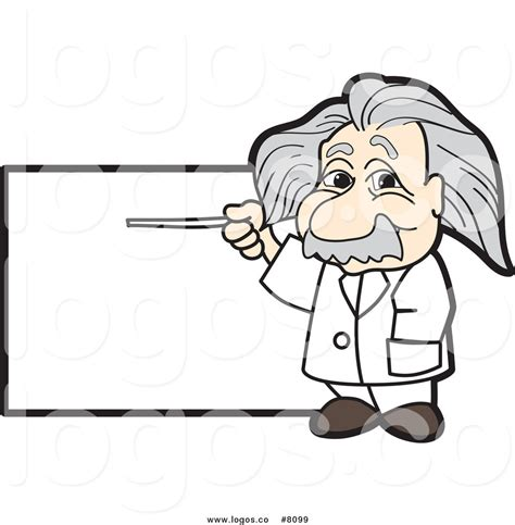 einstein clipart scientist clipart einstein pencil and in color scientist