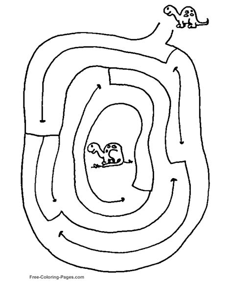 maze coloring pages printable coloring page for kids kids channel mazes to print