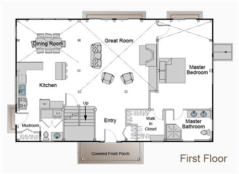 home floor planner barn style home plans barn plans vip