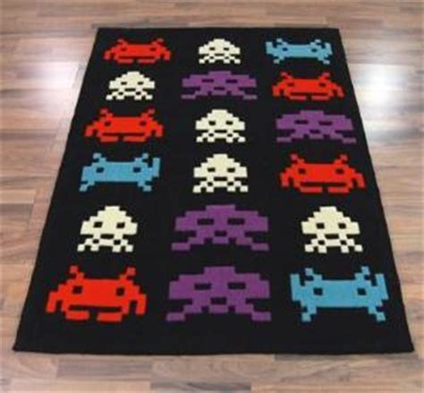 space invaders rug space invaders rug retro to go