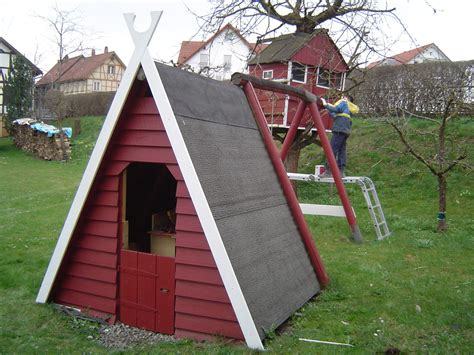 spielhaus garten selber bauen vivaverde co