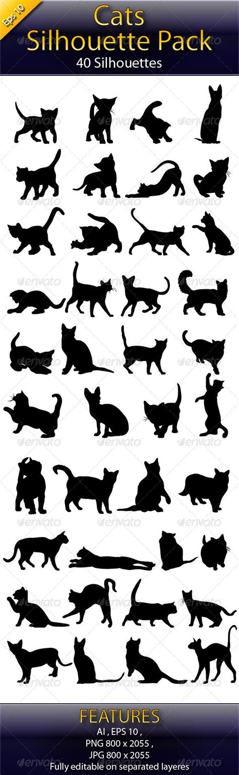 tattoo black cat silhouette 162 best silhouettes cat silhouettes images on pinterest