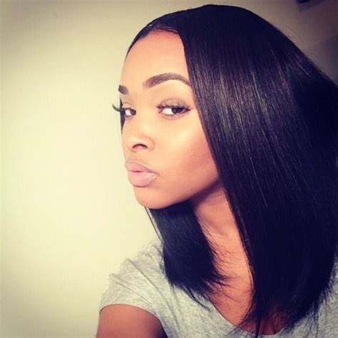 middle part bob pinteres 1000 ideas about middle part sew in on pinterest sew