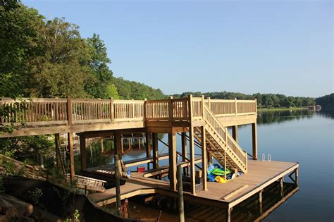 lakehouse boat dock frameworks construction