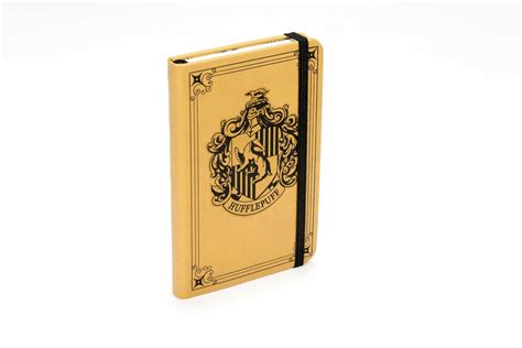 harry potter hogwarts ruled notebook books harry potter hufflepuff ruled pocket journal book by